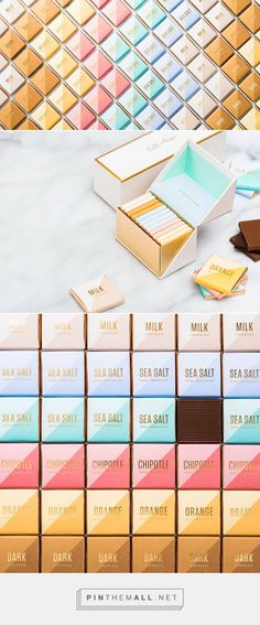 Chocolate Packaging for Lolli and Pops by Valerie Durak | Fivestar Branding Agency – Design and Branding Agency & Inspiration Gallery