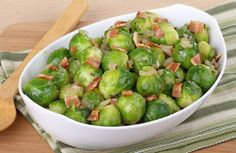 My very favorite way to serve Brussels sprouts!