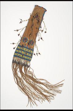 Collections Search Center, Smithsonian Institution. Сумка для трубки Кайна, период 1840г.