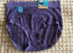 Vanity Fair Flattering Lace BRIEF Panty Style #13281 - 7/Large  Purple    eBay