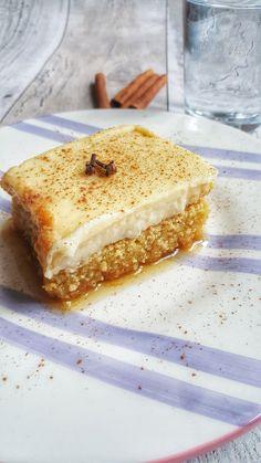 The BEST politiko Thessalonikis – Greek Food Alchemist Greek Sweets, Greek Desserts, Greek Recipes, Baking Tins, Baking Recipes, Cake Recipes, Dessert Recipes, Party Desserts, Yummy Recipes