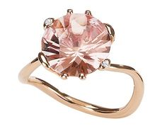 Dior rose diamond ring