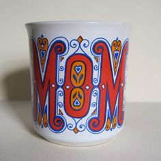 Vintage Groovy Mom Coffee Mug by sofreshsovintage on Etsy, $7.00