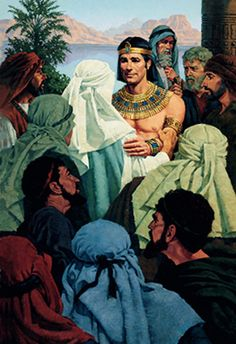 Joseph Forgiving His Brothers, by Ted Henninger