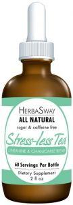 HerbaSway Stress-Less Tea - L-Theanine & Chamomile