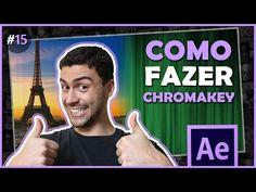 Como fazer chroma key - Tutorial After Effects - YouTube