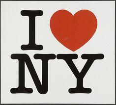 I (Heart) NY Presentation Boards  Milton Glaser (American, born 1929)
