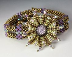 MadDesigns: The new La Navette bracelet with neat flower design