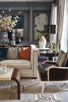 Luxury and Classic Home Decor Inspiration - Discover the best luxury and classic interior decor ideas to inspire your next project. Classic Home Decor, Classic Interior, Luxury Home Decor, Luxury Interior Design, Interior Design Inspiration, Home Decor Inspiration, Decor Ideas, Modern Interior, Design Ideas