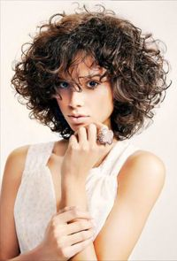 Samuel Rocher Collection Samuel Rocher Collection - Galleries - Modern Salon Sure, the bushy perms o Short Curly Haircuts, Permed Hairstyles, Cool Hairstyles, 1950s Hairstyles, Loose Perm Short Hair, Short Hair Cuts, Hair Day, New Hair, Afro Look