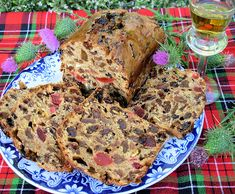 Bonny Scotland, St Andrew's Day and Fruited Tea Loaf with Whisky - Lavender and Lovage