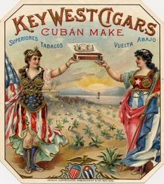 The History of the Key West Cigar Industry and the Beautiful Art of the Cigar Labels