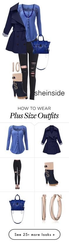 """""""sheinside"""" by kim-coffey-harlow on Polyvore featuring Me&Ro and 3.1 Phillip Lim"""