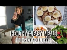 What I Eat In A Day | Quick Go-To Meals - YouTube