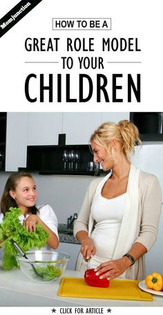 How To Be A Perfect Role Model For Your Child: Parents are the primary positive role models for children.This article gives you seven simple steps to turn a perfect role model for kids! Read on! Cooking Classes, Cooking Tips, Cooking Chef, Cooking School, Food Tips, Cooking Recipes, Food Substitutions, Order Food Online, Nutrition Articles