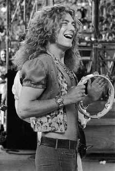 """Robert Plant, 6'1"""", West Bromwich, Staffordshire, England (English father, Romani mother)."""