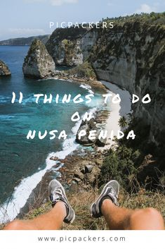 11 things you must check out when visiting Nusa Penida 🌞 Hidden Beach, Amazing Sunsets, Snorkelling, Most Beautiful Beaches, Ways To Travel, Big Waves, Beautiful Islands, Far Away, Natural Wonders
