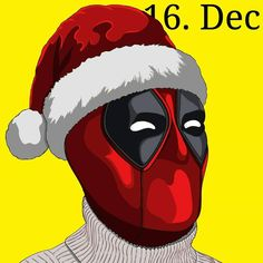 Santa deadpool everyone.  the video is out soon on my youtube channel, link in bio.  #deadpool #christmas #santa #christmasdeadpool #adobeillustrator #adobe #illustrator #cartoon #wacom #ryanrenolds #marvel #comics #mcu #christmassweaters #youtube #speeddraw  @vancityreynolds @marvel @marvelstudios