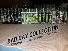 Bad day Clipper lighter From my collection. Please visit my page on facebook Clipper Collection Moleiro