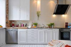 modern apartment Freshome kitchen