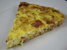 bacon leek and guyrere quiche...yum