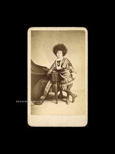 Rare CDV Photo of Young Circassian / Sideshow Girl No. by diabolus, $115.00