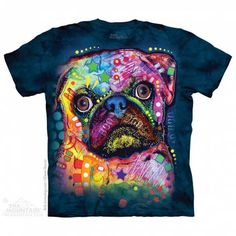 The Mountain-Shirts HundeMops - (RUSSO)