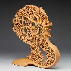 "Mark Henry Doolittle ~ ""Sea Foam Clock"" 