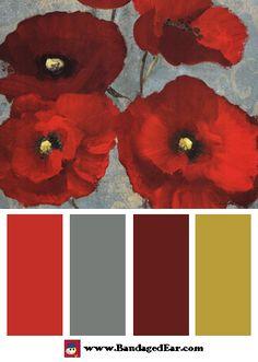 Kindle's Poppies Color Palette