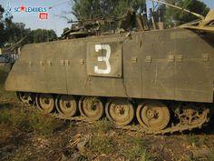 IDF M113 Zelda Golani Brigade.