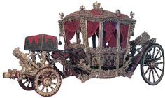 Большая французская коронационная карета. 1717 г. Санкт-Петербург. Эрмитаж