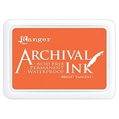 Permanent Ranger Archival Ink Pad COBALT Waterproof Acid Free