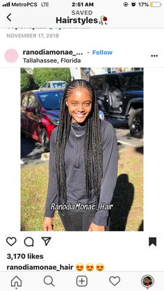 All styles of box braids to sublimate her hair afro On long box braids, everything is allowed! For fans of all kinds of buns, Afro braids in XXL bun bun work as well as the low glamorous bun Zoe Kravitz. Black Girl Braided Hairstyles, Braided Ponytail Hairstyles, Black Girl Braids, African Braids Hairstyles, Braids For Black Hair, Black Women Hairstyles, Braids For Black Women Cornrows, Cornrows With Box Braids, Half Cornrows
