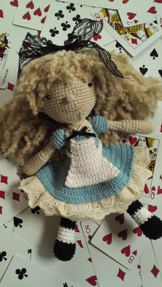 Alice's Adventures in knitting