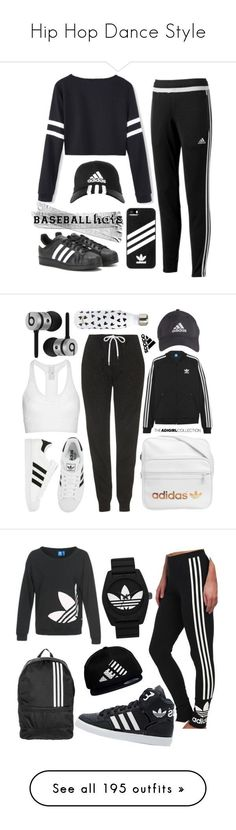 """""""Hip Hop Dance Style"""" by yours-styling-best-friend ❤ liked on Polyvore featuring dance, WhatToWear, HipHop, hiphopdance, adidas, baseballcap, baseballhats, Topshop, adidas Originals and Beats by Dr. Dre"""