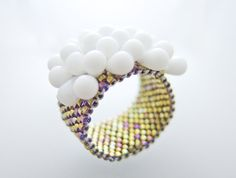 Ring  #Beaded #Band #Ring #Gold by @JeannieRichard $28 #brigteam