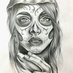 WANT A SHOUTOUT ?   CLICK LINK IN MY PROFILE !!!    Tag  #DRKYSELA   Repost from @di_picture   Diseño catrina. #catrina #catrinatattoo #tattoo #tattoos #tattooart #woman #face #details #drawing #draw #pencil #ilustracion #pic #pen #art via http://instagram.com/zbynekkysela