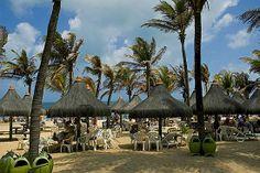 Praia do Futuro é uma das mais badaladas - Fortaleza - Ceará