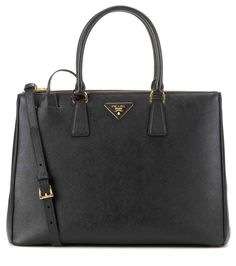 PRADA Galleria Saffiano Leather Tote. #prada #bags #shoulder bags #hand bags #leather #tote #lining #