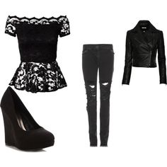 """Outfit Teen wolf #1"" by liliherrera on Polyvore"