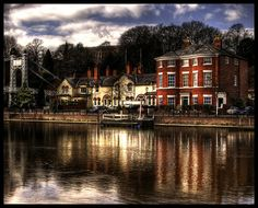 Chester, England and the River Dee