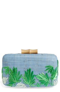 Free shipping and returns on Kayu 'Makaha' Straw Clutch at Nordstrom.com. A lush leaf design and bamboo accents bring beach-chic style to a handwoven straw clutch designed with enough room for your smartphone and other on-the-go essentials.