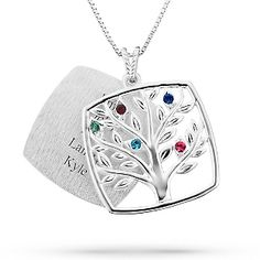 Jewelry on pinterest mother necklace keepsake boxes and family