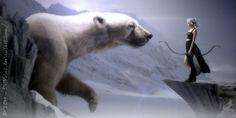 Smilla's sense of Snow by DriPoint on DeviantArt Science Art, Science Fiction, Artist Film, Image Sites, Art Addiction, Bear Art, Winter Scenes, Digital Collage, Polar Bear