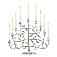Pomegranate Menorah from Michael Aram $299....Sigh....  beautiful though
