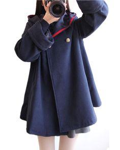 """Color:red.khaki.navy+blue.  Size:S.M.L. Size+S: Length:68cm/26.52"""".Bust:102cm/39.78"""".Sleeve+length:60cm/23.40"""".Shoulder:37cm/14.43"""". Size+M: Length:72cm/28.08"""".Bust:104cm/40.56"""".Sleeve+length:62cm/24.18"""".Shoulder:38cm/14.82"""". Size+L: Length:74cm/28.86"""".Bust:112cm/43.68"""".Sleeve+length:64cm..."""