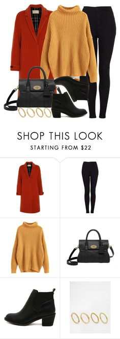 """Sin título #14381"" by vany-alvarado ❤ liked on Polyvore featuring Burberry, Topshop, Mulberry and Made"