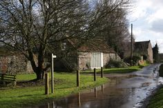 Located On The Main Green In A Tranquil North Norfolk Village Six Miles From Coast