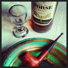 Pipe and booze