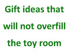Avoiding The Toy Clutter